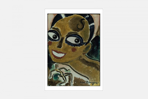 "Postkarte ""Josephine Baker au Bal nègre"", 10er-Set"