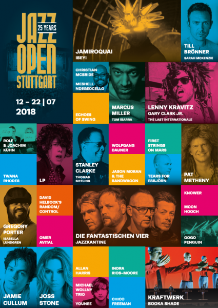 Poster Line-up 2018